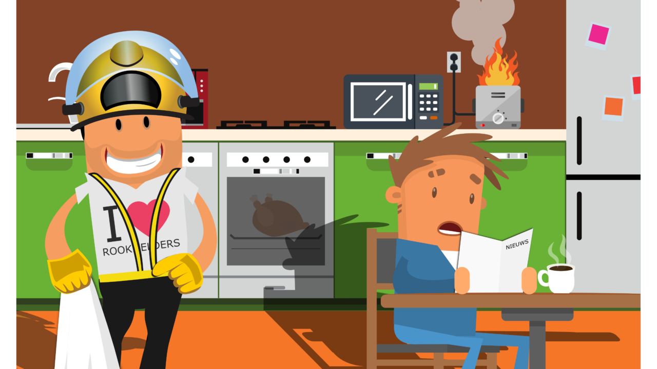 Brandveilige keuken