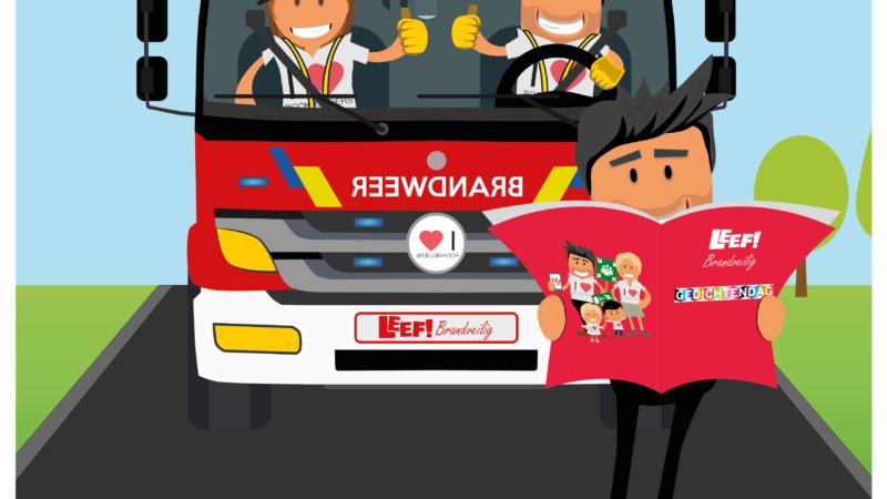 Rijmen en dichten om brandveiligheid toe te lichten!