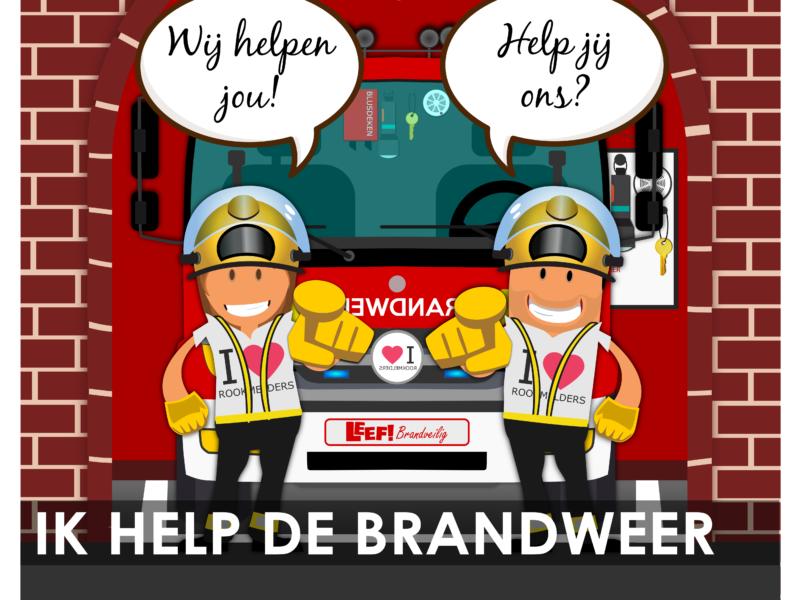 Ik help de brandweer